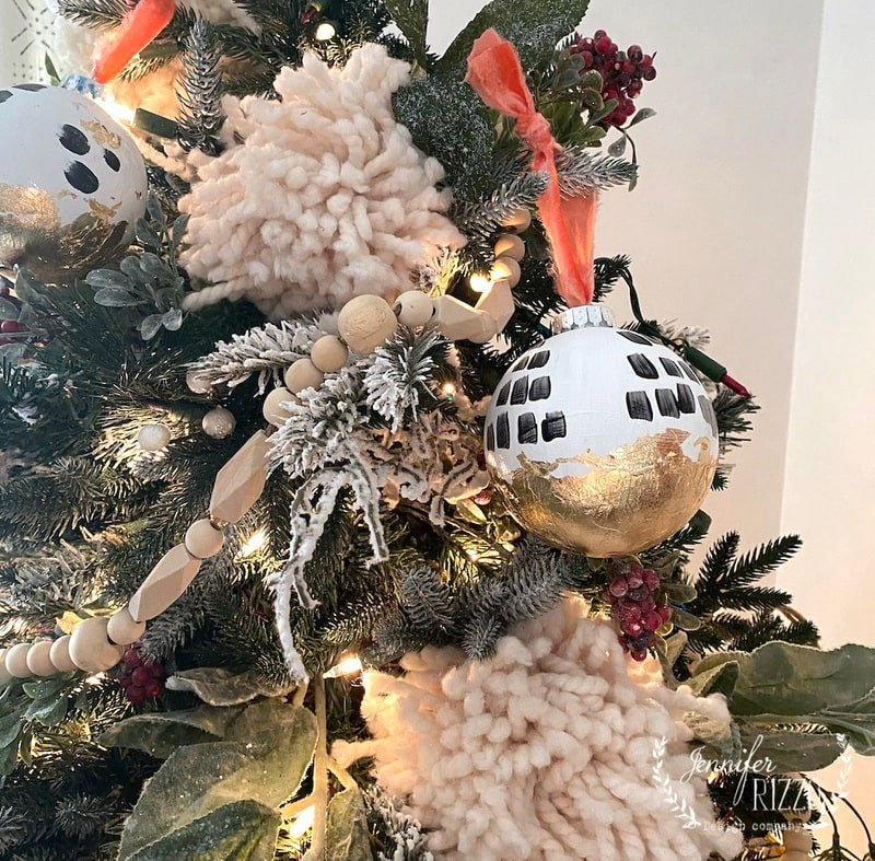 DIY Modern Boho Ornament Tree