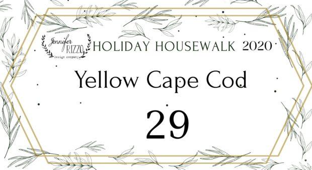 Yellow Cape cod