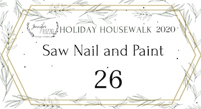 Saw Nail and Paint