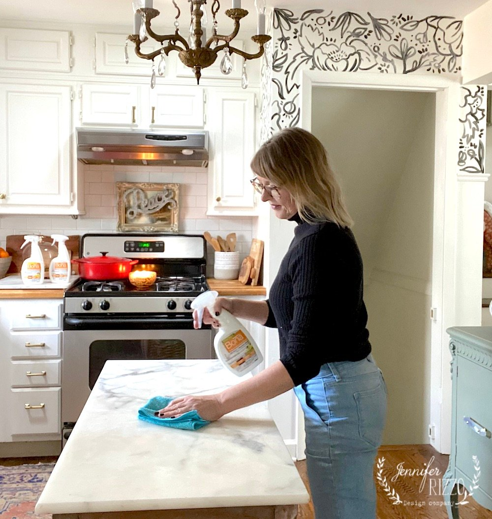 Keeping a Clean Kitchen without Harsh Chemicals