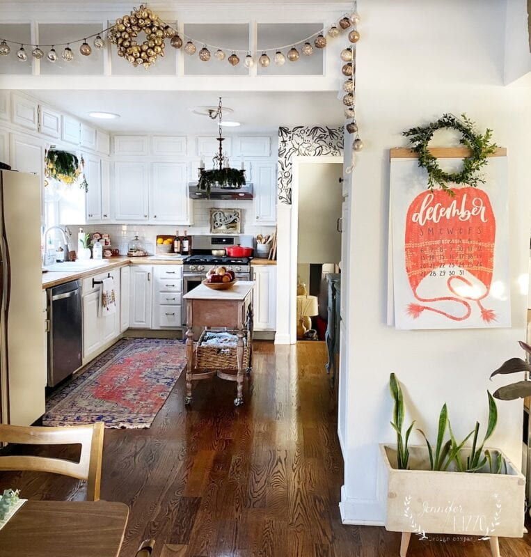 Jennifer Rizzo's Kitchen at teh Holiday Housewalk