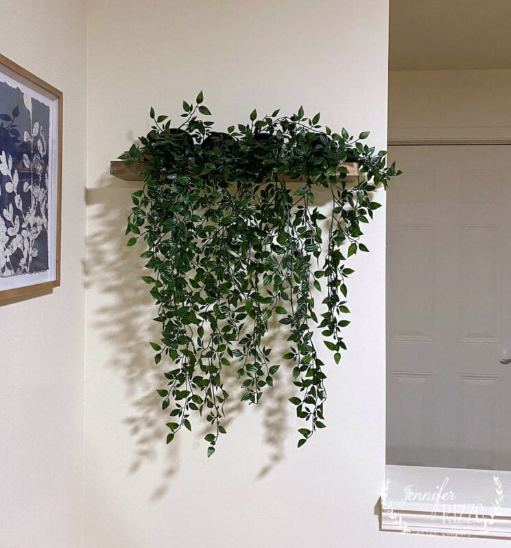 Floating plant wall DIY