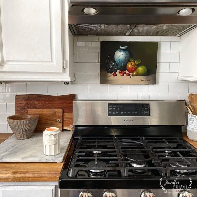 Art over stove