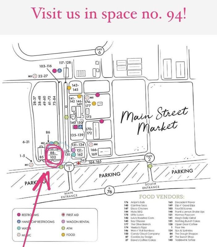 Visit Us at the Urban Farmgirl Main Street Market Spring 2021 this weekend