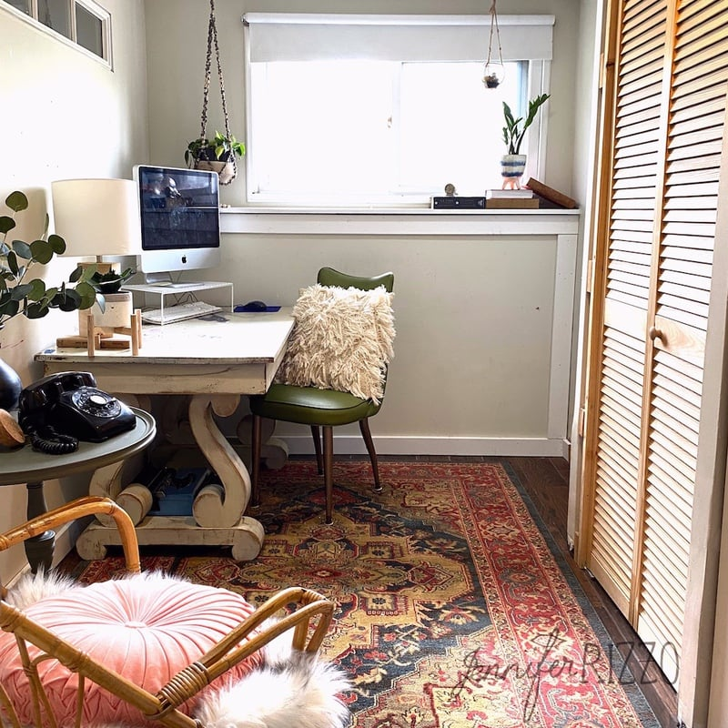 The No Money Spent Office Makeover