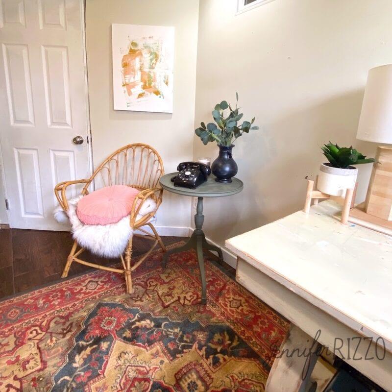 Small office makeover idea
