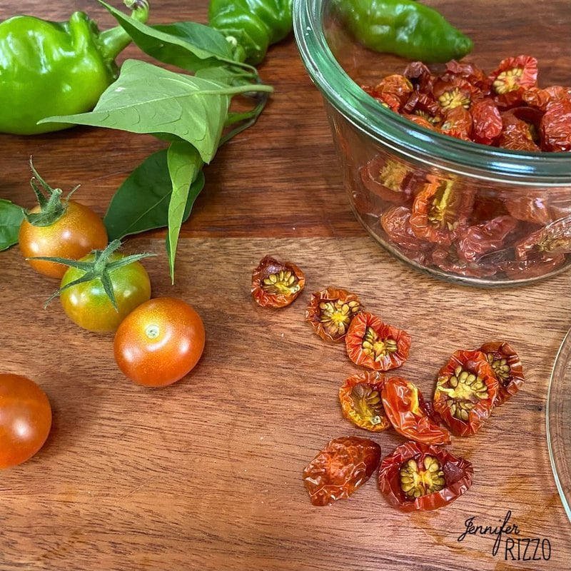 Make Sun Dried Cherry Tomatoes in the Oven
