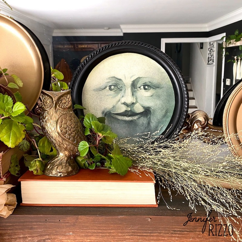 Make a Man in the Moon Decorative Tray
