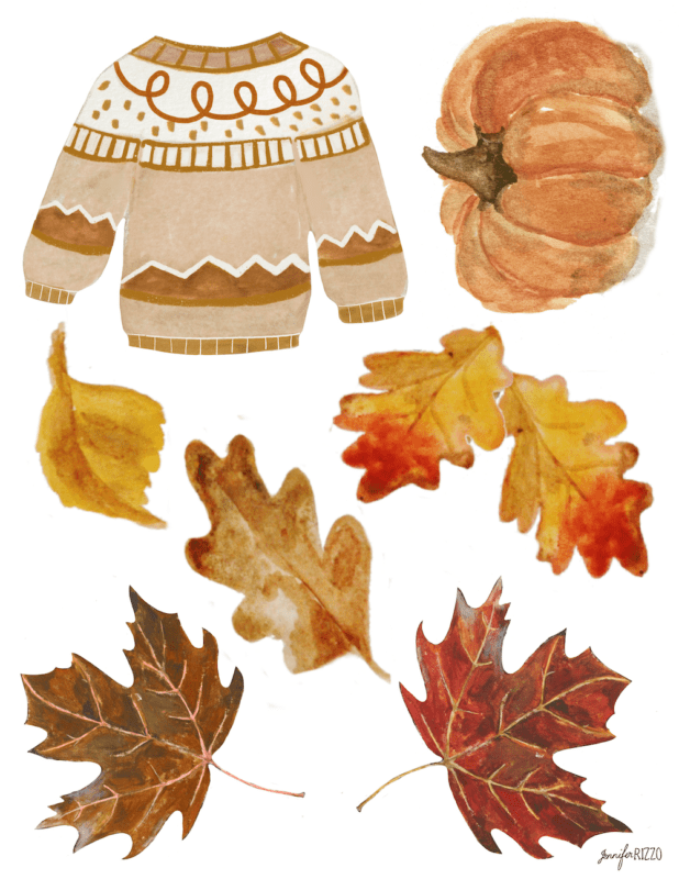 Printable fall images for banner